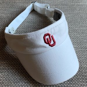 OU Sooners Boomer Oklahoma University Visor